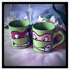 Teenage Mutant Ninja Turtles Glitter Masks Mugs